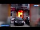 Пожар в Раменском: люди оказались в огненной ловушке