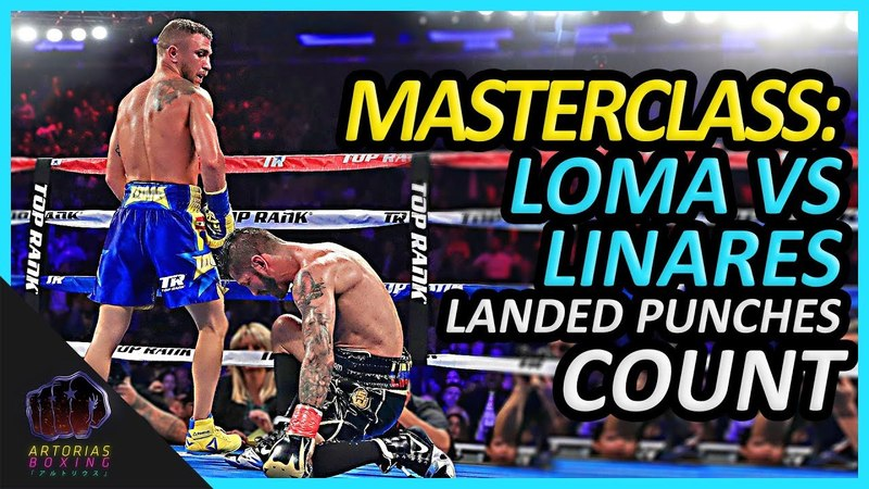 How Vasyl Lomachenko Outboxed Jorge Linares (Landed Punches Count) NoMasChenko LomaLinares