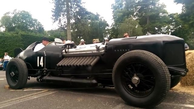42,000cc 1500hp Supercharged Bentley-Packard V12 Engine FIRE-UP