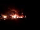 Пожар в Милицейском поселке