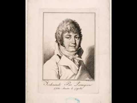 Ferdinando Paer - Concerto in Re maggiore: 2-3 Andante sostenuto-Allegretto