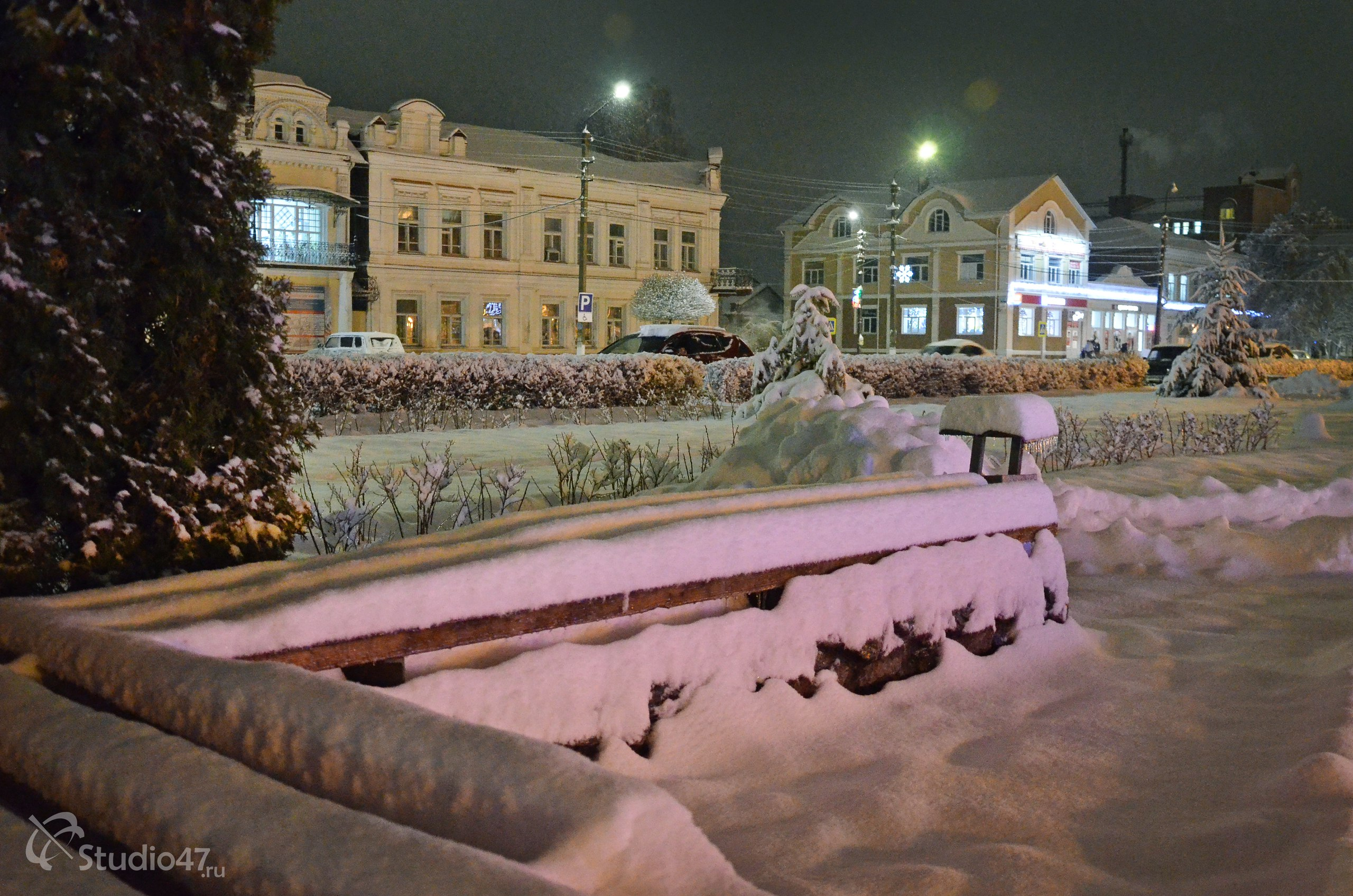 Театральная площадь Борисоглебска
