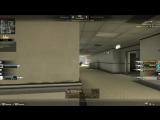 CSGO(one bullet, two dead)