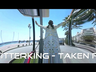"""Michael the glitterking at french riviera ... ( this is a part of his song """"sunny days"""" )"""