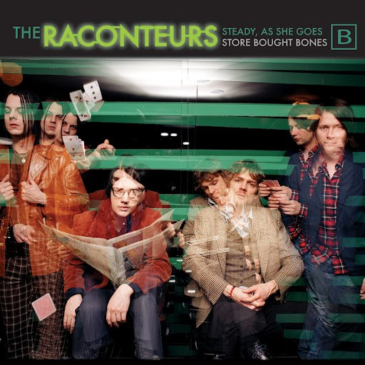 The Raconteurs альбом Steady, As She Goes