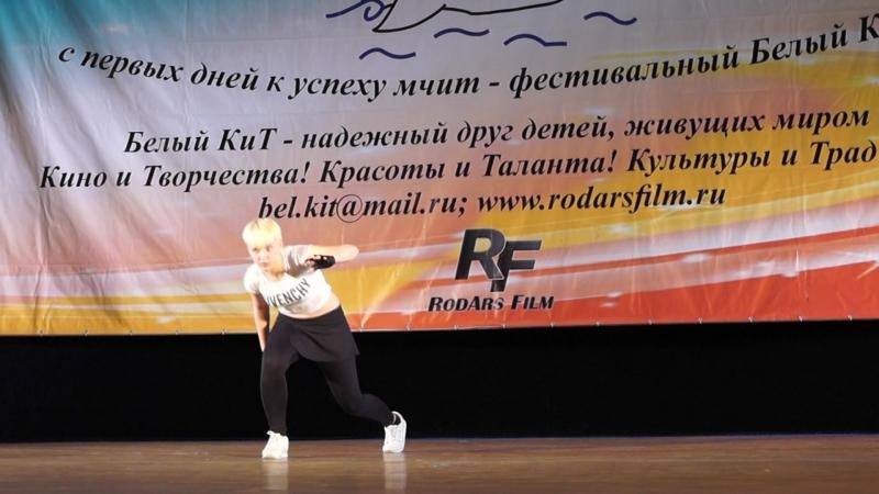 Миланка в своем танце - Одинокая Волчица На Международном конкурсе Белый Кит в Суздале.Задумка и постановка так же от Милы.Мил