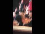 April 10: Fan taken video of Justin at the El Rey Theatre in Los Angeles, California.