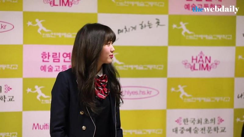 [WD영상] CLC 권은빈 한림연예예술고등학교 졸업식 포토타임