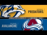 Stanley Cup Playoffs 2018 WC R1 Game 4 Nashville Predators-Colorado Avalanche