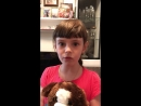 Видео-привет от Вики!