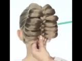 Красивая причёска для девочки