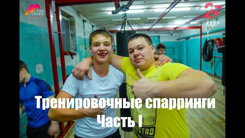 Тренировочные спарринги в п.Новая Игирма I (19.11.17г)