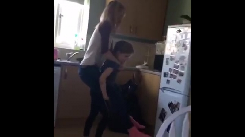 My daughter is so strong