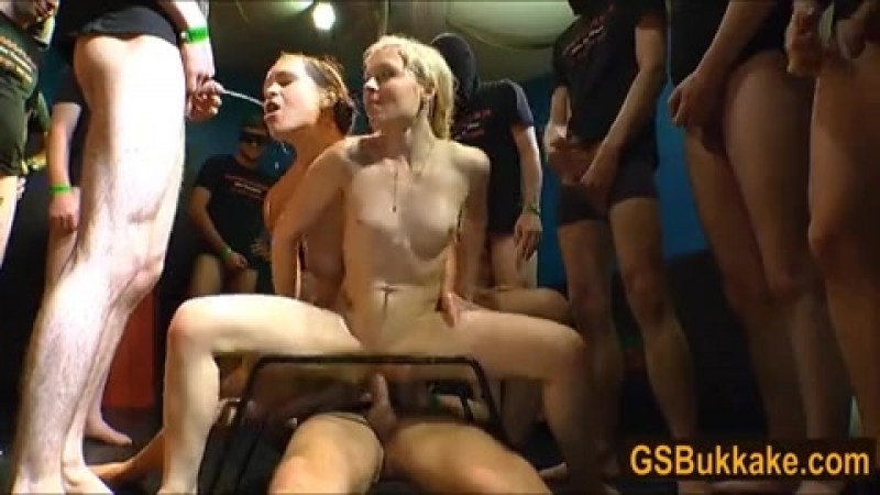 Blonde And Brunette Women Get Pissed On Then Swallow.mp4
