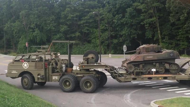Танковий сідловий тягач M26 Дракон.