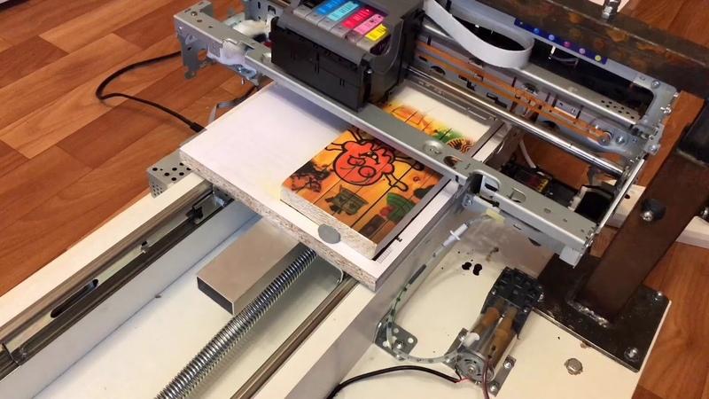 СМУК-принтер планшетный принтер прямой печати