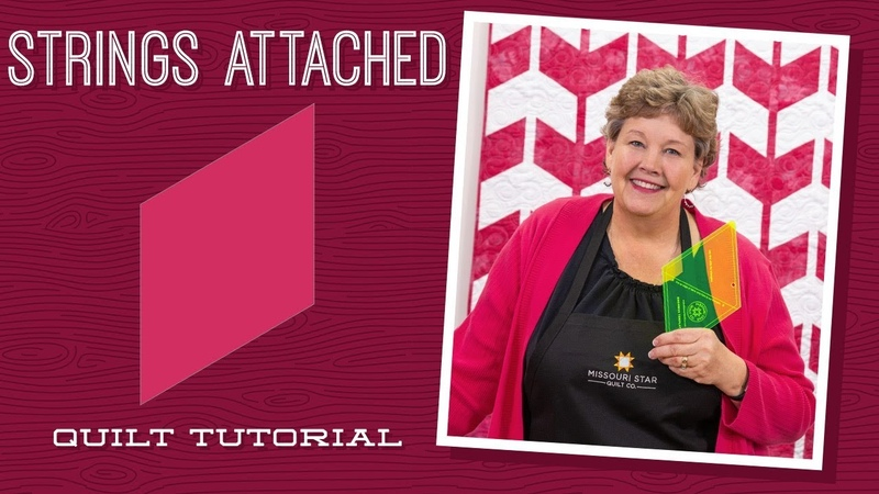 Make a Strings Attached Quilt with Jenny!