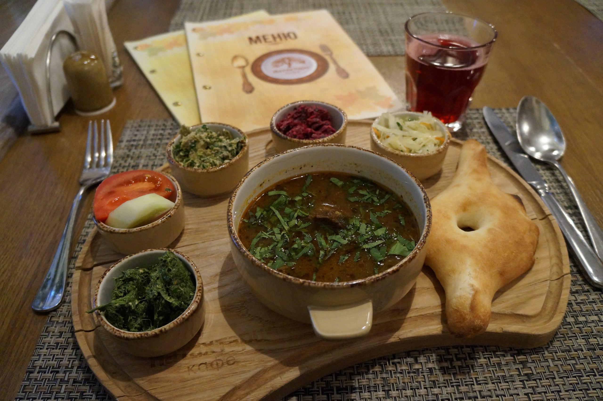 Натахтари - самые голодные обеды в Москве