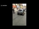 Автомобилистка отправилась в поездку на сгоревшей машине