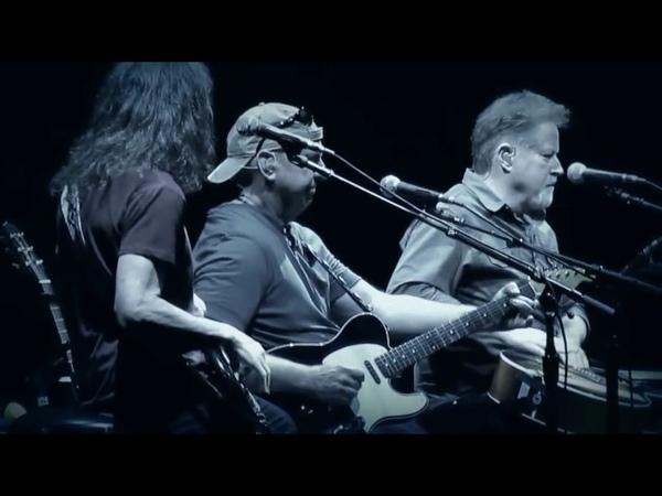 The Eagles, with Bernie Leadon. Reunited. a rare live performance. peaceful easy feeling.