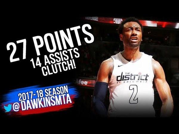 John Wall Full Highlights ECR1 Game 4 Raptors vs Washington Wizards - 27-14-CLUTCH! | FreeDawkins