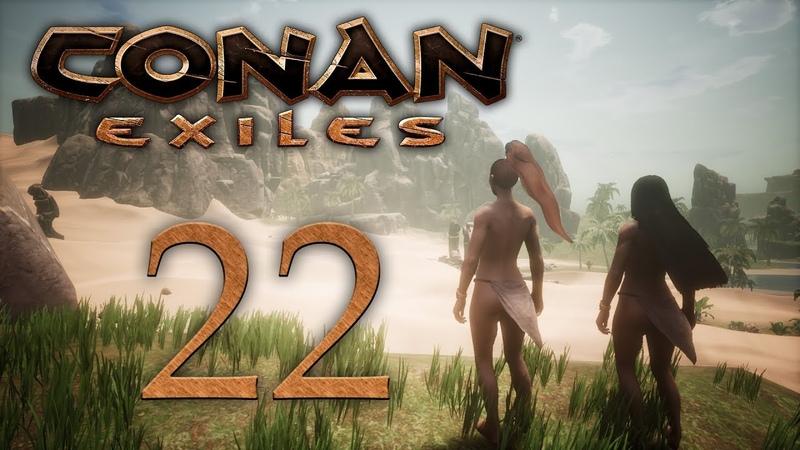Conan Exiles - прохождение игры на русском - Снова джунгли, проход в зимний биом [22] | PC