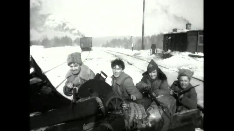Они были первыми (1956). СССР. Хф. История, революция, гражданская война, интервенция. **