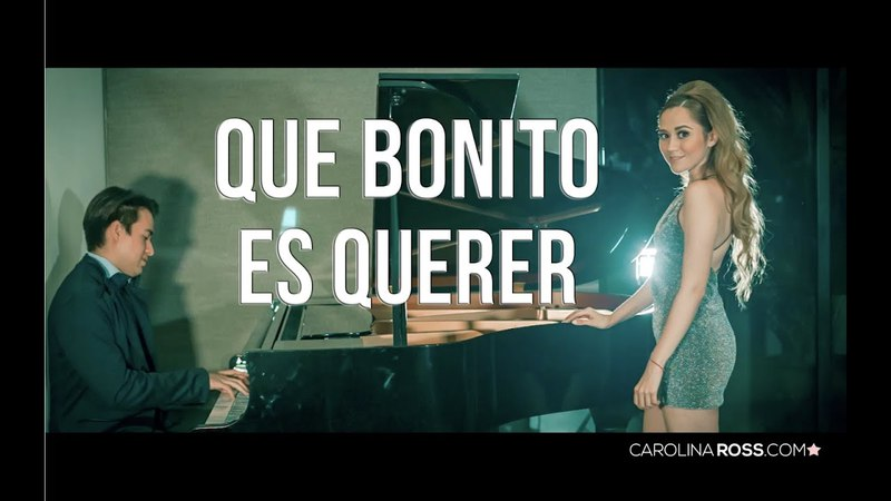 Que bonito es querer - Ulices Chaidez y sus plebes (Carolina Ross cover)