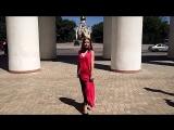 """Модель """"VIA Models"""" на показе Светланы Топаловой"""
