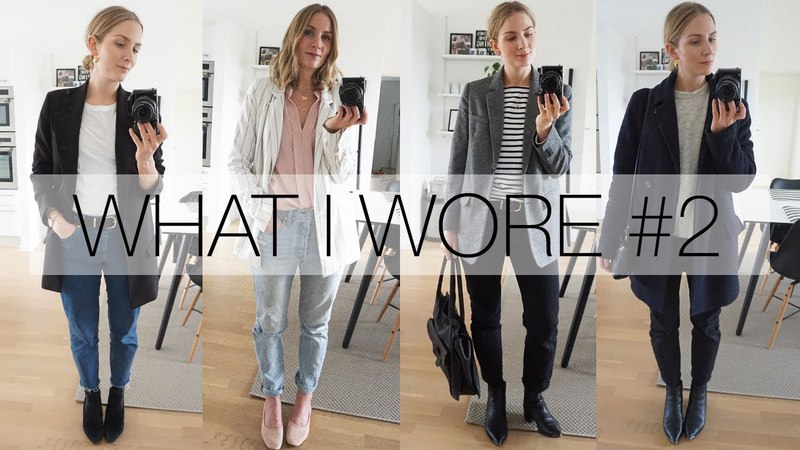 What I wore this week 2 | Spring capsule