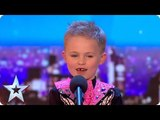 Six-year-old Oscar DAZZLES with incredible Irish dancing! Auditions BGT 2018