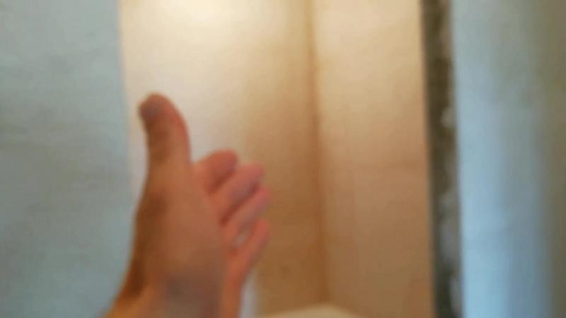 Весенний ⛅ Кафель в туалете завершён на 85 %. Переходим в ванну.