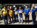 Красногорские болельщики поддержали акцию спасите родину