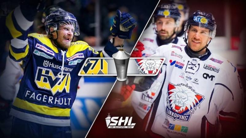SHL Slutspel - HV71 - Linköping HC 2018-03-12
