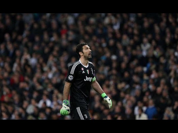 Leg 2 UCL   Real Madrid (1) - (3) Juventus   Buffon RED CARD Highlight
