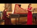 К. Ф. Э. Бах. Соната g-moll для флейты, 1 часть. Исполняют: Анна Щулькина (флейта), Наталья Лисанова (клавесин)