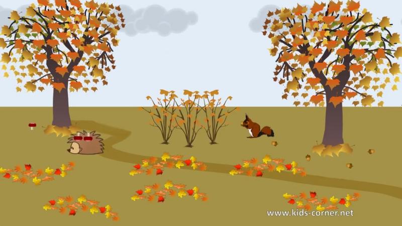 Времена года. Мультик про осень. Стихи про осень для детей