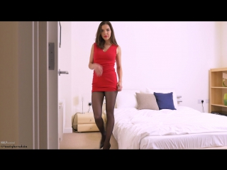 Henessy | PornMir ПОРНО ВК Porno vk HD 1080 [Solo, Pantyhose, High Heels]