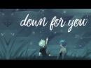Down for you || midobaku [HAPPY (late) B-DAY JIN!]