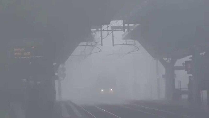 E483.056 GTS RAIL Nicola in the fog - GTS RAIL nella nebbia a Rogoredo