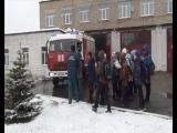 Учащиеся школы №9 совершили экскурсию в Пожарно-спасательную часть г. Мценска