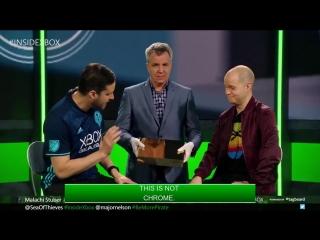 Золотой Project Scorpio Edition Xbox One X