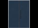 Ежедневник-органайзер недатированный 2 в 1 А5 интегральный переплет папка-органайзер 7БЦ софт-тач