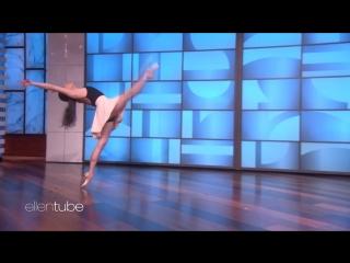 Ballerina Tiler Peck on The Ellen show   New York City Ballet