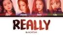 BLACKPINK 'REALLY' LYRICS Color Coded Eng Rom Han