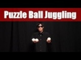 Puzzle Game Juggling 3 ball easy tricks figure L 7 patterns by Pazule