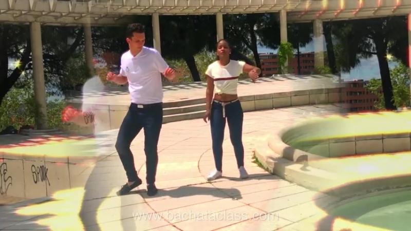 Baile de BACHATA Johana y Sueco Busco Una Mujer Joan Soriano