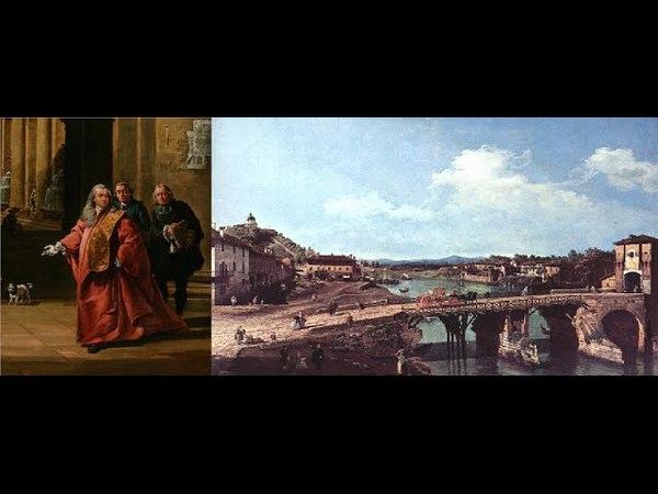Video mostra Bernardo Bellotto dipinti e tecniche miste opere realizzate dal 1738 al 1780