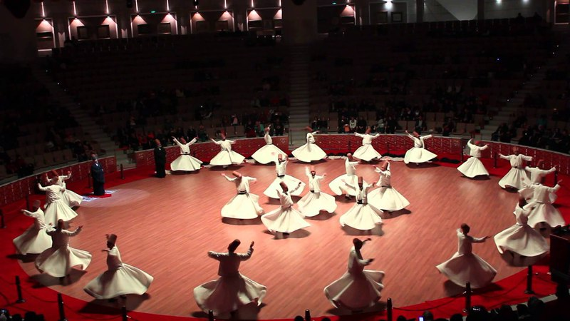 Konya mevlana kültür merkezi sema gösterisi 07,11,2015