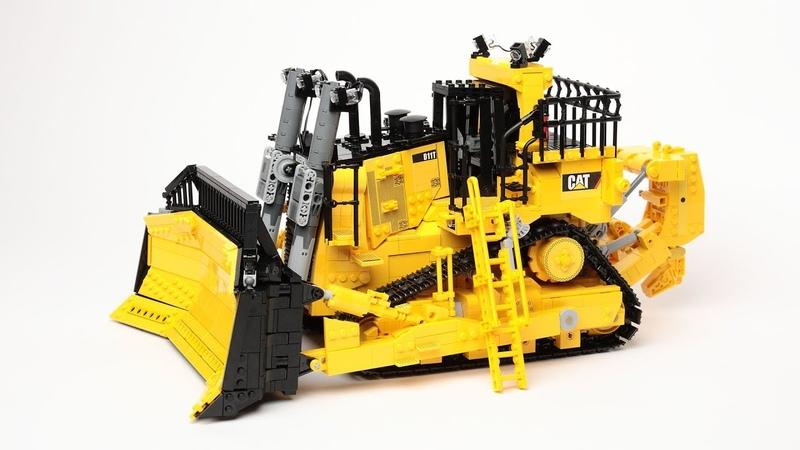 Lego Caterpillar D11T Dozer